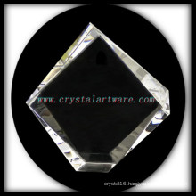 high quality Blank Crystal Iceberg photo frame for laser engraving
