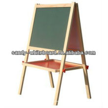 Wood Frame Whiteboard black slate chalk boards magnetic blackboard kitchen