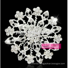 hot sale cheap alloy style silver plated design brooch