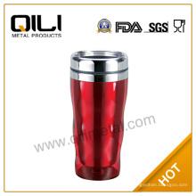 450 мл аккумуляторный кофе Кубок теплее изолированные Оптовая пиво Стейнс кружка из нержавеющей стали для амфибийных транспортных средств для продажи
