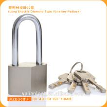Высокий уровень безопасности Никелированная длинная скоба Diamond Type Padlock