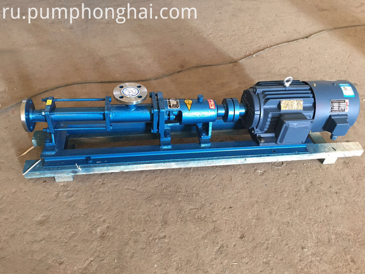 single screw pump