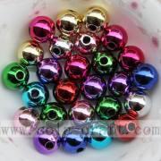 Warna-warna indah perhiasan electroplate manik untuk hiasan