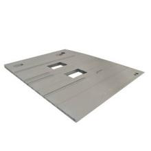 Extrusão de alumínio de alta qualidade 6005A para piso