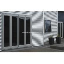 Portes en aluminium à double vitre révolutionnaire super haute