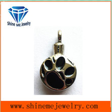 Stainless Steel Glue Pendant Necklace