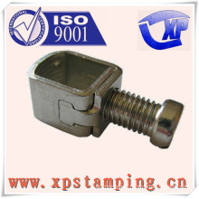Custom stamping parts of terminal with nut