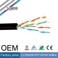 SIPU haute vitesse meilleur prix réseau électrique gros torsadé paire utp extérieur chat 5e câble