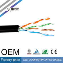 SIPU high speed best price electrical network wholesale twisted pair outdoor utp cat 5e cable