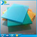 Garantia de qualidade superior de 10 anos, cobertura protegida por UV, oco de quatro folhas de pc de parede