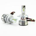 H4 HB2 6000LM 6500K Pure White Super Bright 9V 32V CR CSP F2 LED Car Headlight Hi Lo Beam Auto Parts