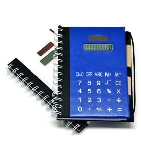 Hardcover Excutive Notebook Calculator with Pen