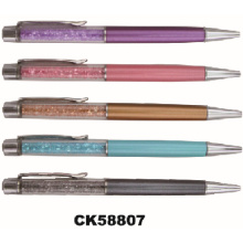 Rhinestone Gift Twist Metal Ball Pen