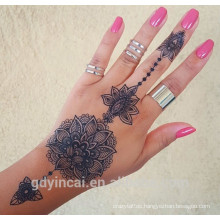 Wholesale Henna Sticker Tattoo with Unique Design