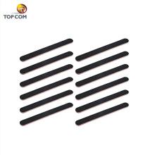 disposable wood nail file 100 / 180 grit custom printed nail buffer block