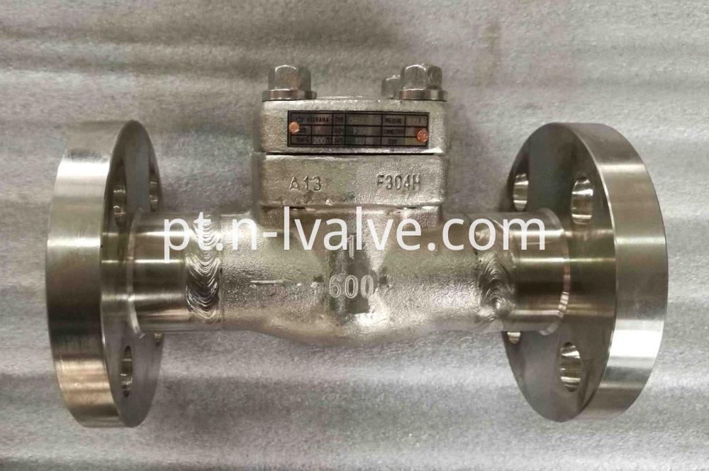 Class 600 Weld Flange Check Valve