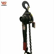 cheap material handling equipment 3 ton chain lever block with alloy steel hook