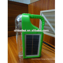 Bivouac light CE/ROHS/IP65 solar lantern radio charger