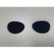 sous masque pour les yeux paire fibre de charbon de bois noir moothng masque pour les yeux