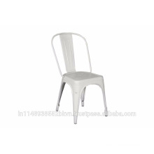 Silver Stacking Chair