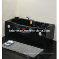 Rectangle Black Massage Bath Tub with Ce Approved (CDT-002 Black)