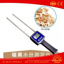Mètre d'humidité de sciure de charbon de bois de mécanisme de bobines de moustique de bouddhiste de Tk100W