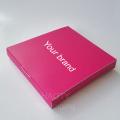Pink Custom Human Hair False Eyelash Extension Box