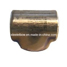 Accesorios de tubería de acero inoxidable de soldadura a tope con el CE