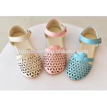 Cheap fashion sandals kids summer shoes hollow out style