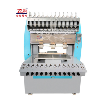 Automatic rubber pvc slipper straps making machine
