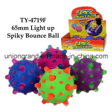 65mm Iluminación Spiky Bounce Ball
