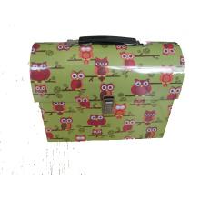 Gift Lunch, caixa de lata com alça e Lock-Lunch, caixa de lata