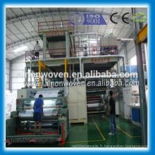Machine de tissu non-tissé de spunbond de S pp de 2400mm fabriquée en Chine