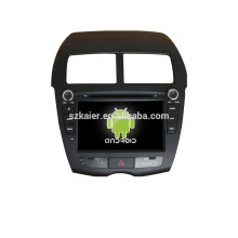 Quad core!car dvd with mirror link/DVR/TPMS/OBD2 for 8 inch touch screen quad core 4.4 Android system PEUGEOT 4008