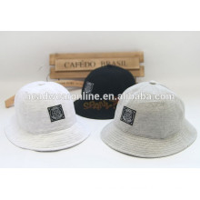 high quality custom bucket hat fashion Korea style fisherman cap with woven label logo