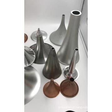 Abajur de mesa de metal preto giratório