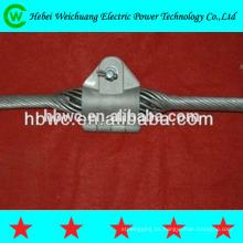 abrazadera de suspensión de cable de línea de transmisión de alta calidad