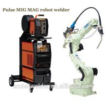 Робот сварочный аппарат двойной импульс миг маг многофункциональный алюминий миг сварочный робототехнический сварочный аппарат