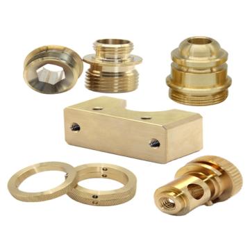 Acessórios de usinagem para torneamento CNC de latão
