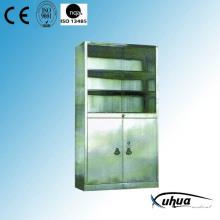 Cabinet de médecine médicale de l'hôpital en acier inoxydable (U-13)