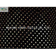 Tecido de Micro camurça dobra em relevo para têxteis-lar