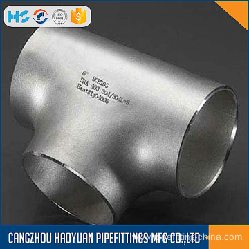 WP316L 6INCH Sch10S Stainless Equal Tee