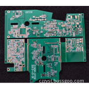 Four layers High Frequency Printed Circuit Board, PCB