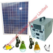60W Solar Power Plant of off-Grid Type