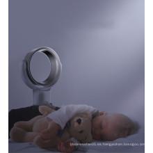 Precio de fábrica de Alta Calidad de 10 pulgadas Portátil Mini Mesa de Seguridad Eléctrica Aire Sin Cuchara Ventilador Enfriador