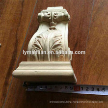 Architectural wood carvings corbels