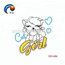 Cartoon Character Stickers Etiqueta temporária do tatuagem para crianças
