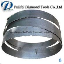 Hoja de sierra de banda de diamante de reemplazo para corte de losa de mármol
