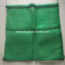 atacado sacos de embalagem de lenha de malha com cordão