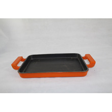 Enamel Cast Iron Lasagna Pan